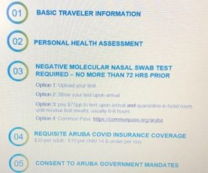 Aruba Entry Requirements for Visitors